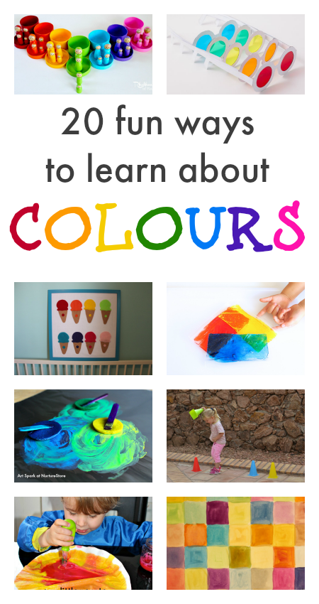 Learn about colour activities colour activities