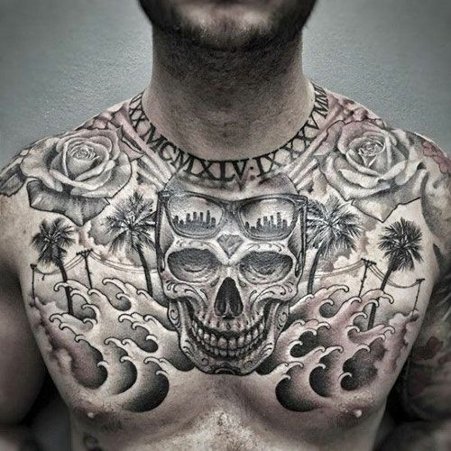 101 Best Chest Tattoos For Men Cool Ideas Designs 2020 Guide Cool Chest Tattoos Chest Tattoo Men Pieces Tattoo