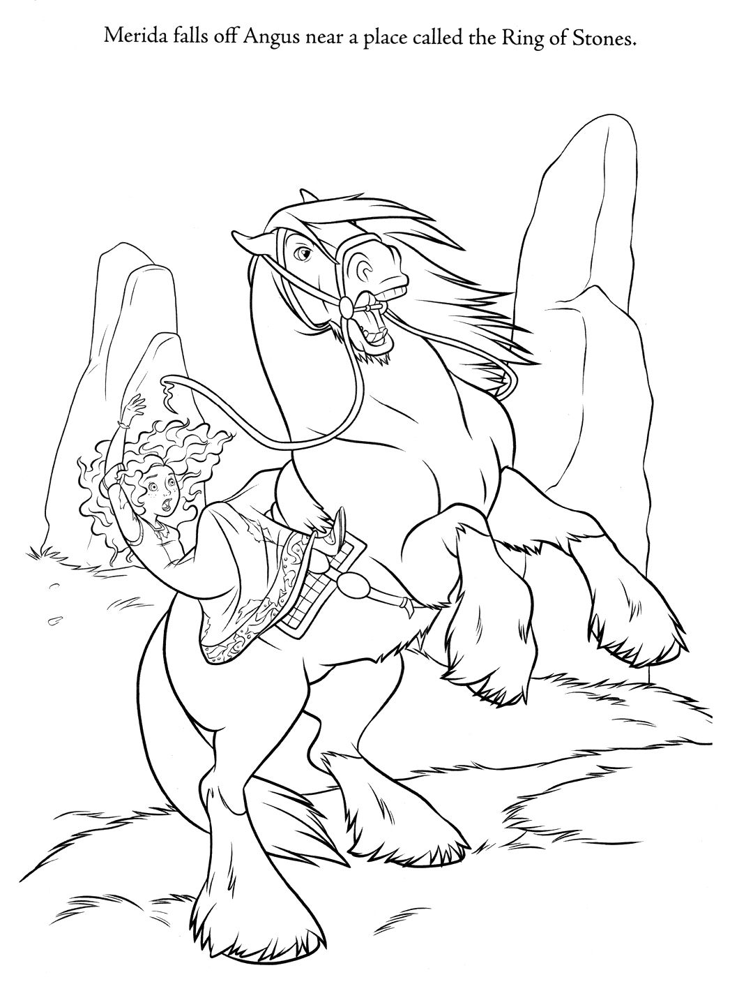 brave coloring page 36 is a coloring page from brave coloring booklet your children express their imagination when they color the brave coloring page they