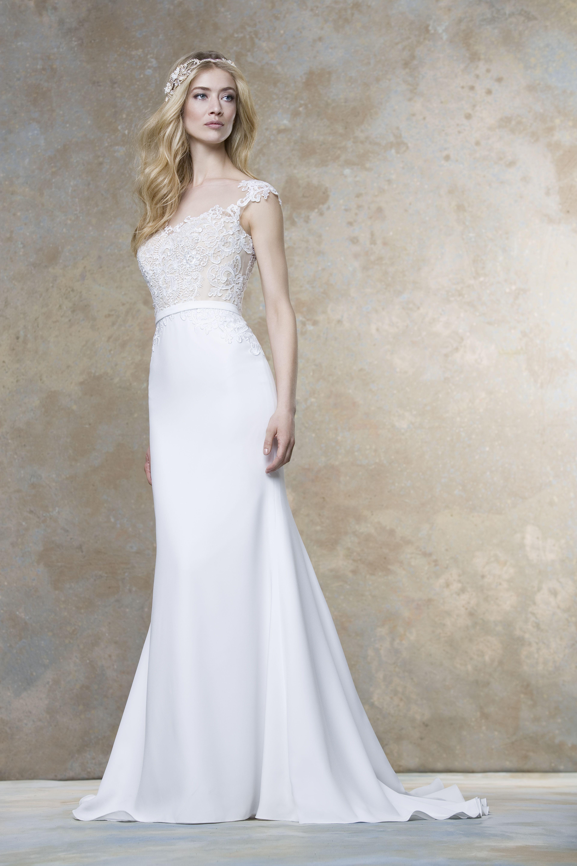 Elegantes Kleid von Ellis Bridals #Ellisbridals #Brautkleider2016 ...