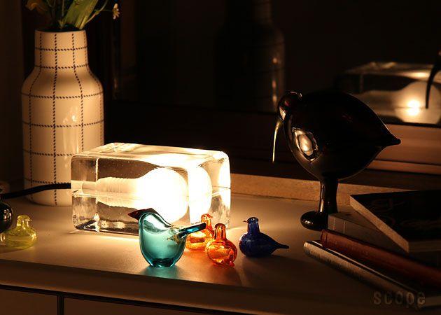 Block Lamp by Harri Koskinen for Design House Stockholm. | Spaces ...