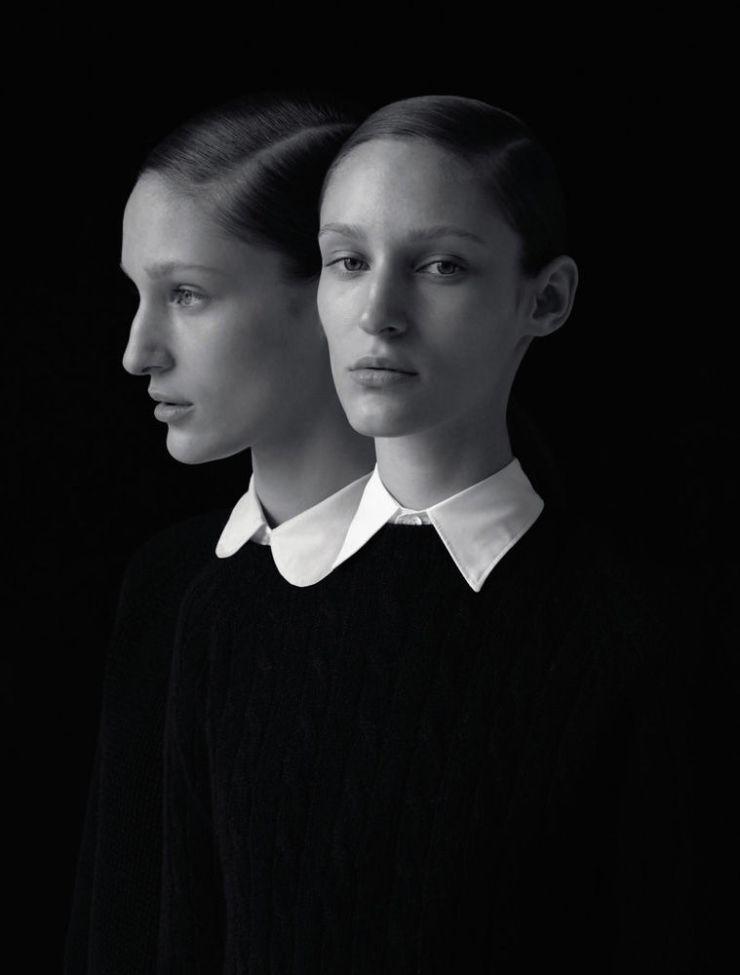 fall-winter 2012/ foto Viviane Sassen/ models Franzi Mueller, Lula Osterdahl