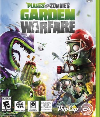 Plantas Vs Zombies Garden Warfare Pc Full Mega Firedrive Plants Vs Zombies Zombie Plant Zombie