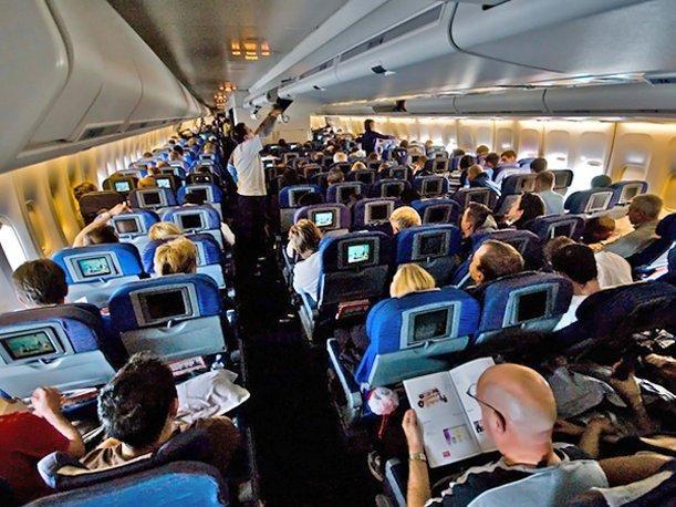 Resultado de imagen de clase economica avion