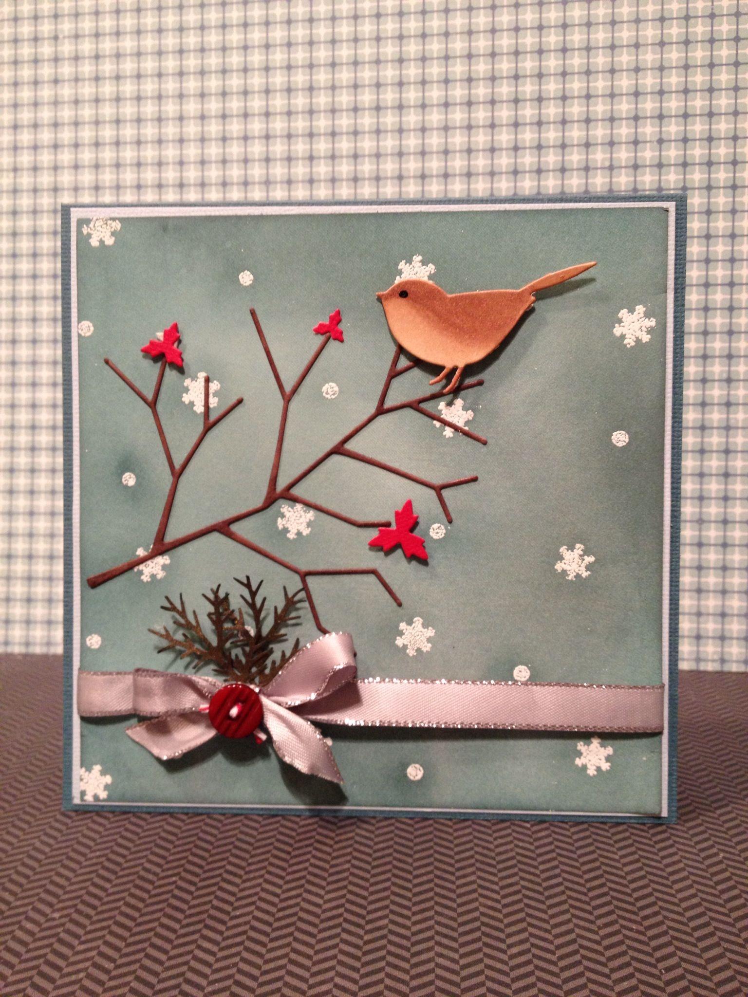 Memory Box Dies Hand Made Cards Kerst Ideeen Kaarten En Kerst