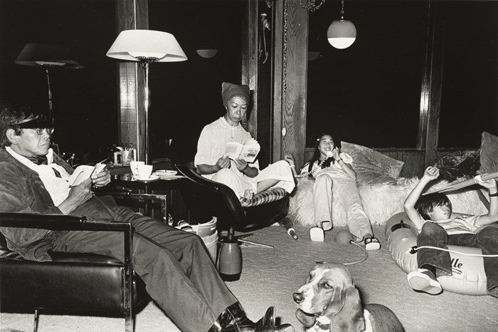 """Michael Jang, """"At Home with the Jangs, from the series The Jangs"""" (1973, printed 2008)"""