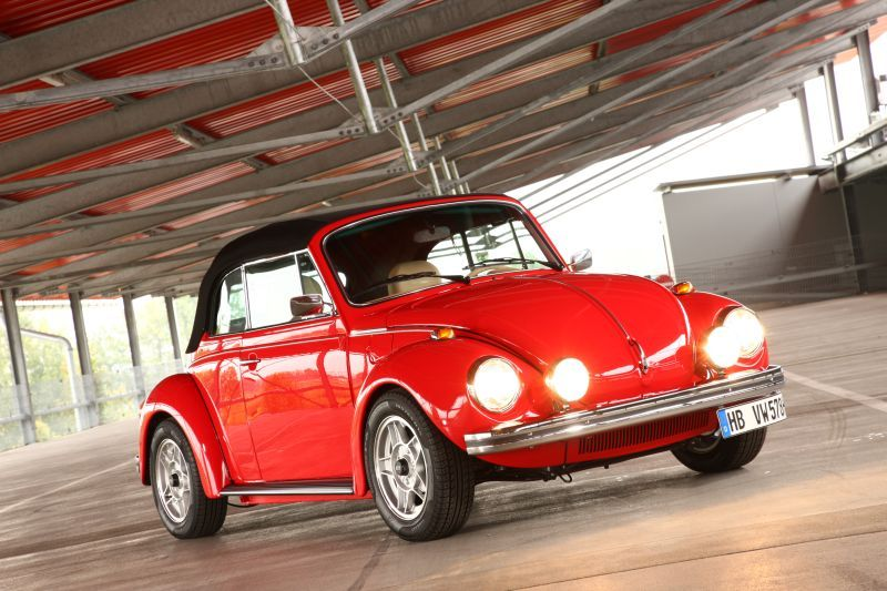 Vw 1303 Cab Bright Red And Lowered Vw Beetle Classic Volkswagen Beetle Vw Bug
