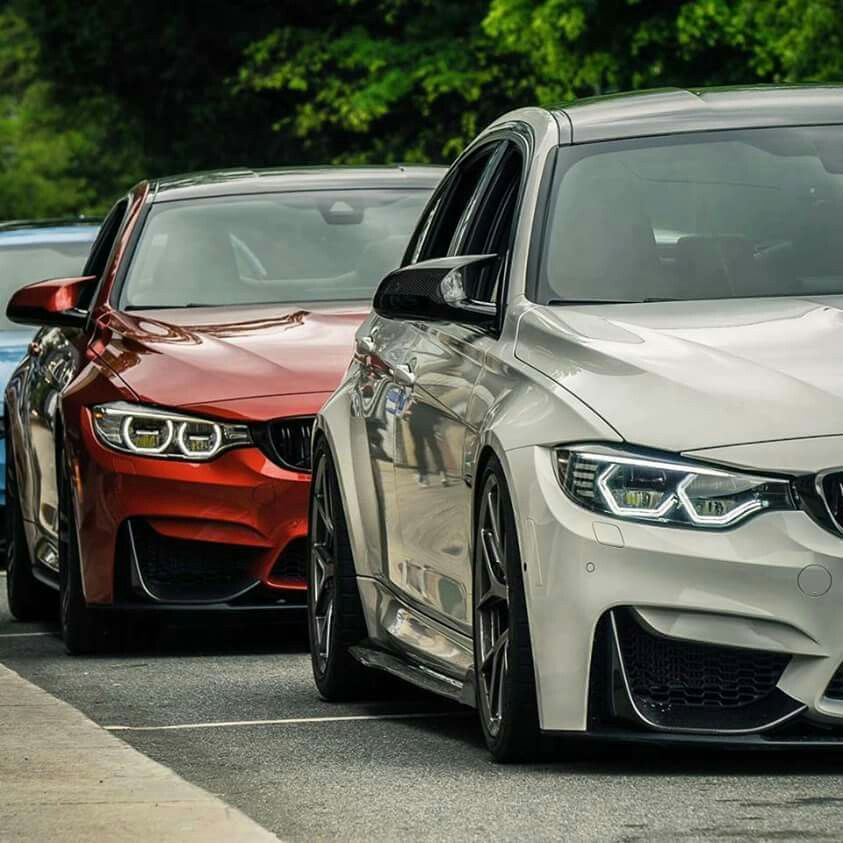 BMW F80 M3 Duo White Red