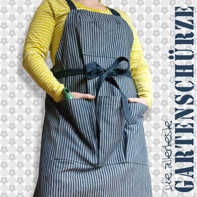 Die allerbeste Gartenschürze zum selber nähen Gartenschürze - hand geflochtene viskose sitzsack designs von darono