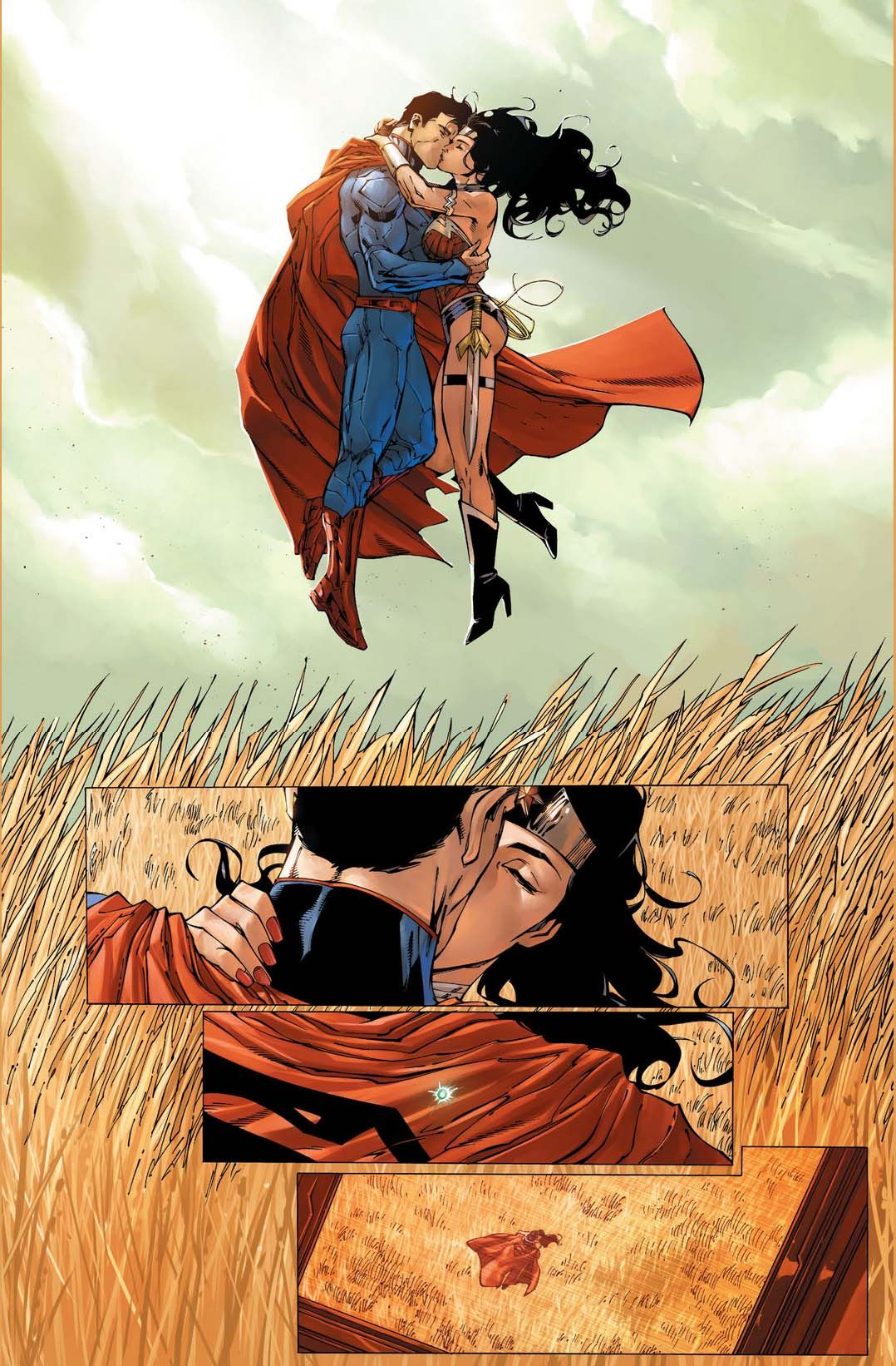 Superman and wonder woman 1078 1642 bruce - Superman wonder woman cartoon ...