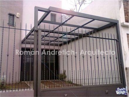 Quinchos y cocheras metalicas prefabricadas techo for Cobertizos prefabricados metalicos