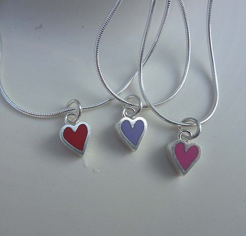 Heart and resin - £25