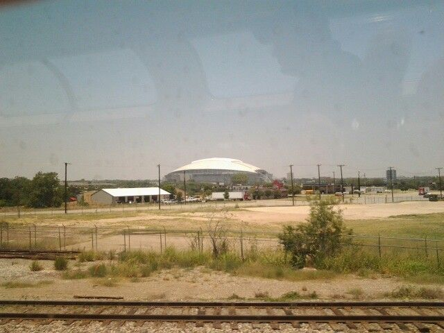 Amtrak Cowboys Stadium