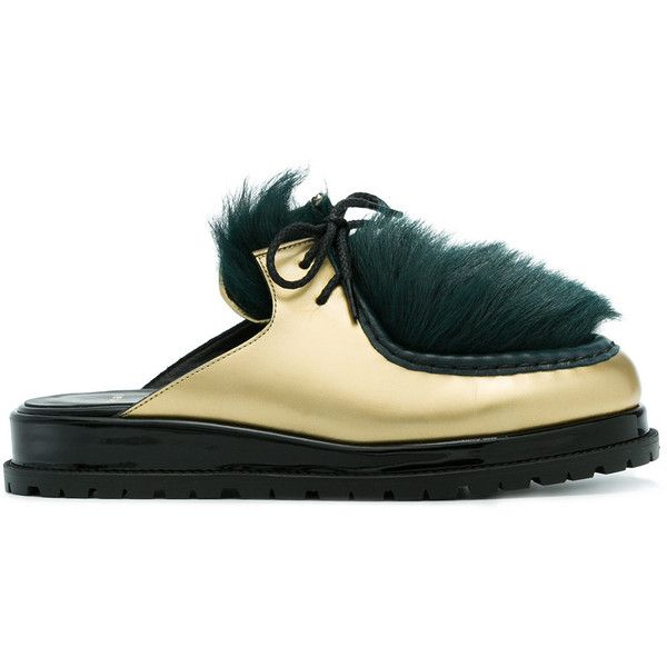 Sacai shearling chukka mules cheap authentic cheap perfect largest supplier uadtykU
