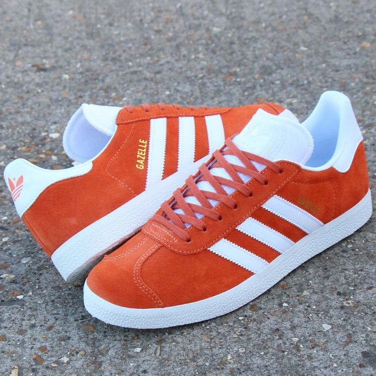 adidas gazelle bleu orange