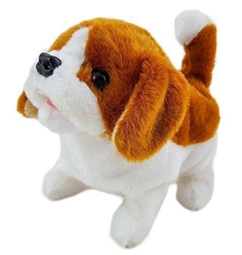 My Lovely Pet Battery Operated Mechanical Plush Dog Walks Barks