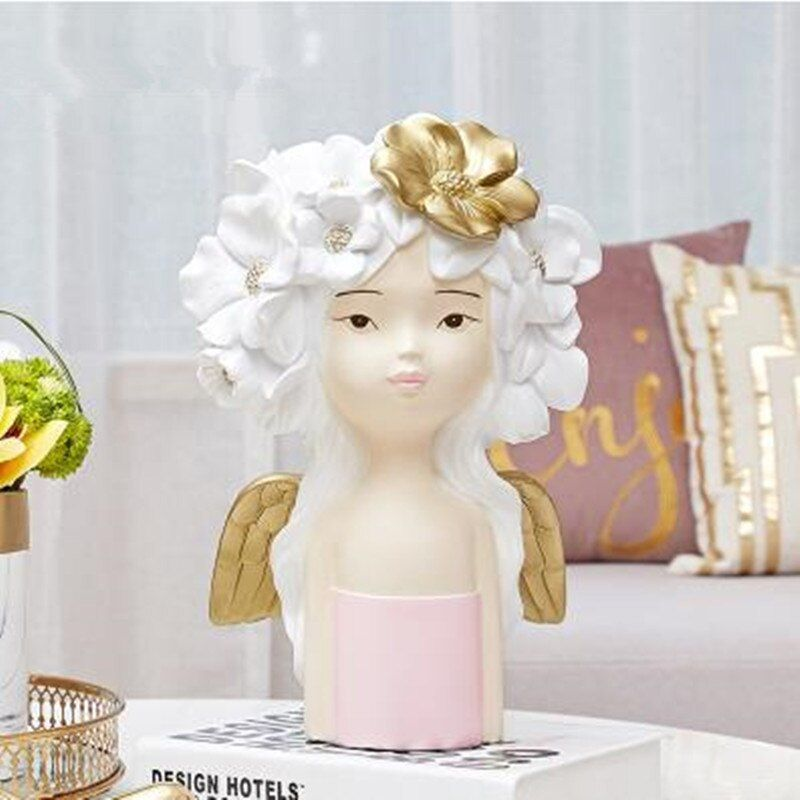 #nordic #creative #character #statue #crafts #home #office #restaurant #table #decoration #gifts #human #head #sculpture #decor
