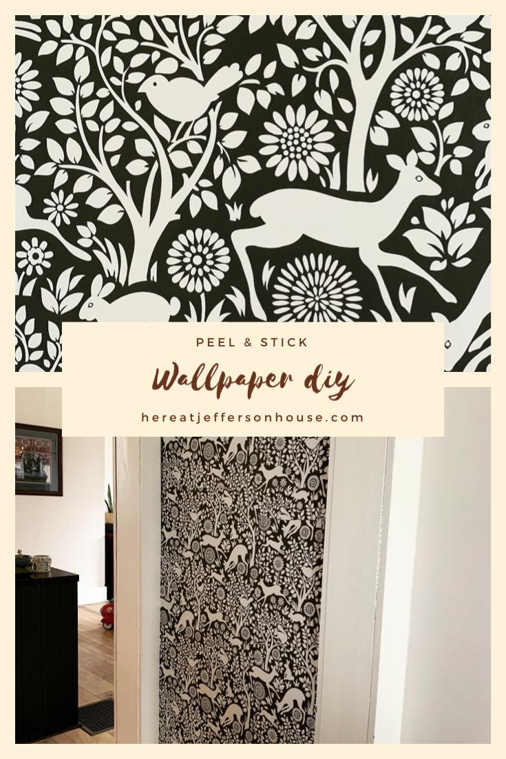Diy Peel Stick Wallpaper Review Diy Wallpaper Peel And Stick Wallpaper Farmhouse Trends