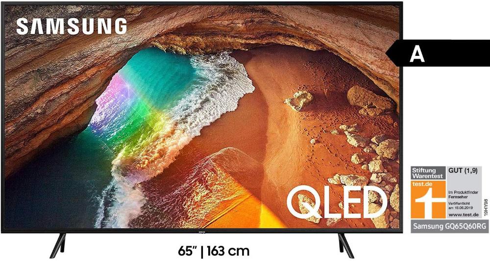 Samsung Q60r 163 Cm 65 Zoll 4k Qled Fernseher Q Hdr Ultra Hd Hdr Twin Tuner Smart Tv Modelljahr 2019 Amazon De Heimkino Tv In 2020 Smart Tv Samsung Tuner