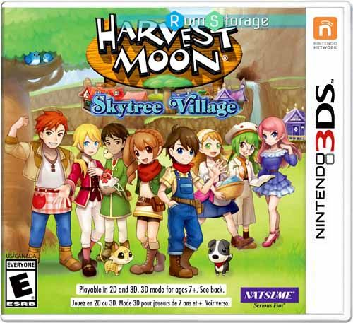 Harvest Moon Skytree Village 3ds Roms Cia Download Harvest Moon