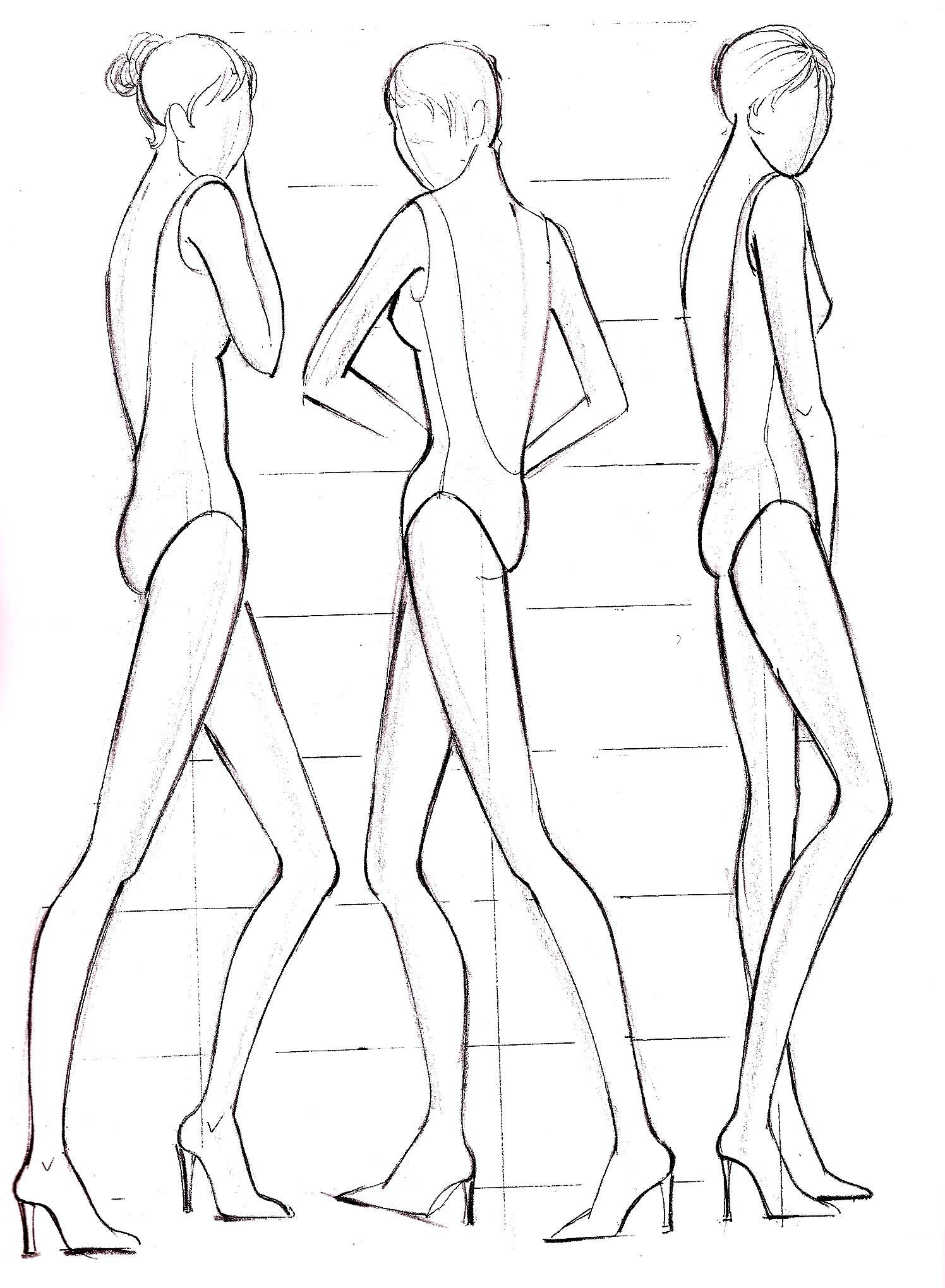 Fashion Illustration Figure Drawing Templates How What Why