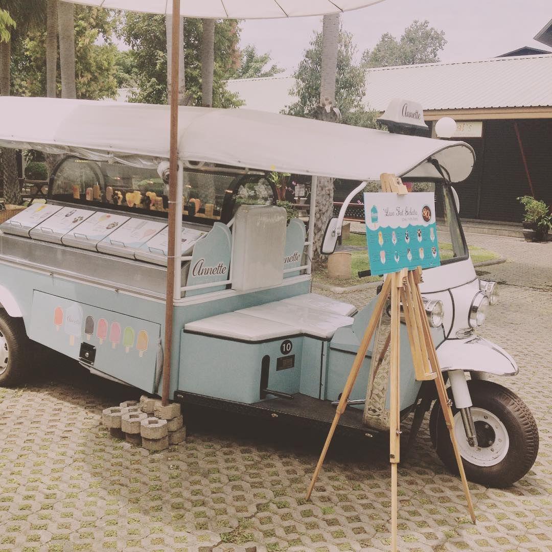 Gelato tuk tuk in chang mai thailand tuktuk gelato