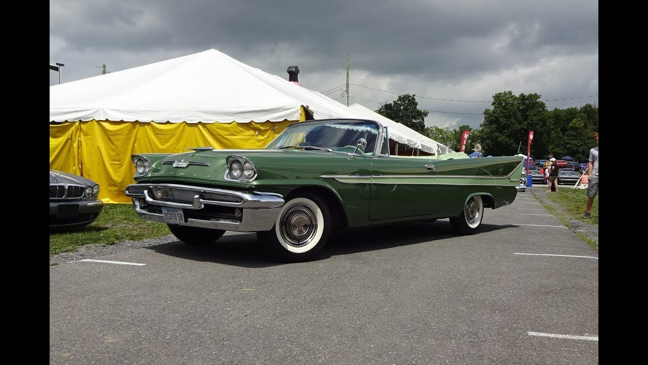 1958 DeSoto Firedome Convertible in Green Paint & Engine