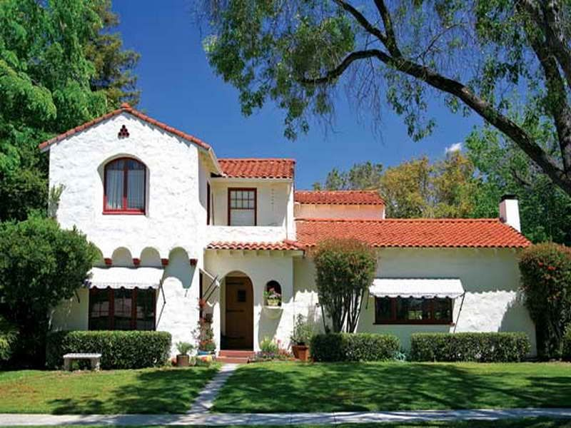 Spanish Homes | Spanish Colonial Style Architecture Homes