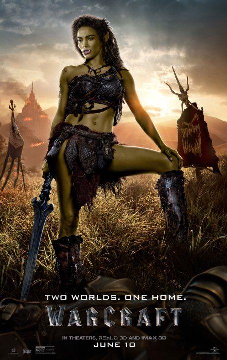 Warcraft 2016 Warcraft Film Warcraft Movie Garona Warcraft