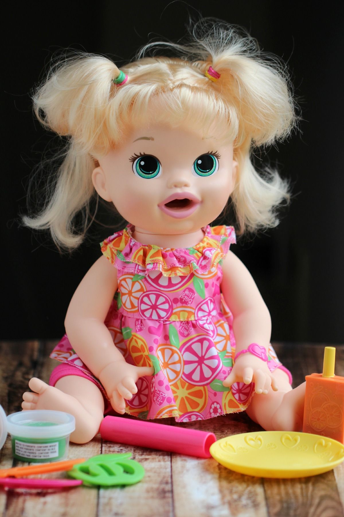 Baby Alive Super Snacks Snackin Sara Doll Fmegifts2015 Frugal Mom Eh Baby Alive Doll Clothes Baby Alive Baby Alive Dolls