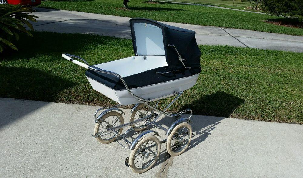 Vintage Peg Perego Pram Stroller Carriage Baby Buggy