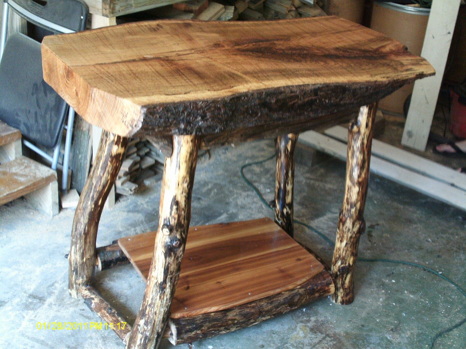 Log furniture handmade rustic log furniture oak log Pictures of rustic furniture