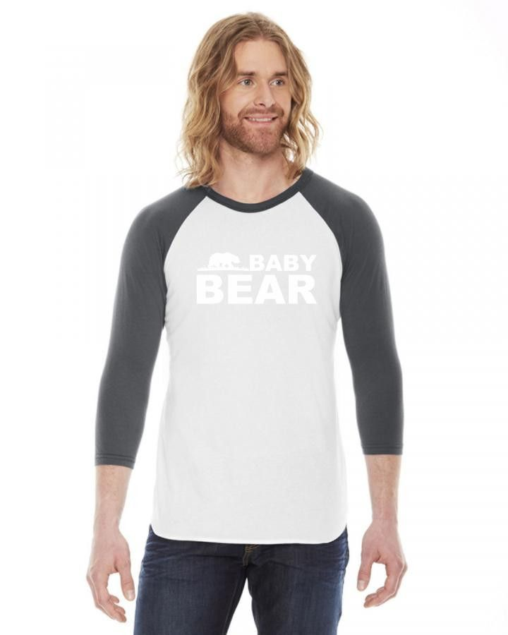 baby bear newe 1 1 3/4 Sleeve Shirt