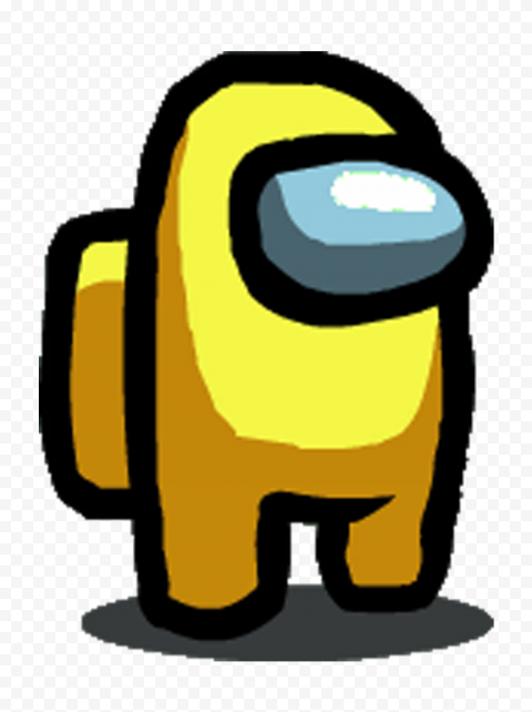 Yellow Among Us Character Png Citypng Cute Backrounds Vintage Cartoon Character Wallpaper