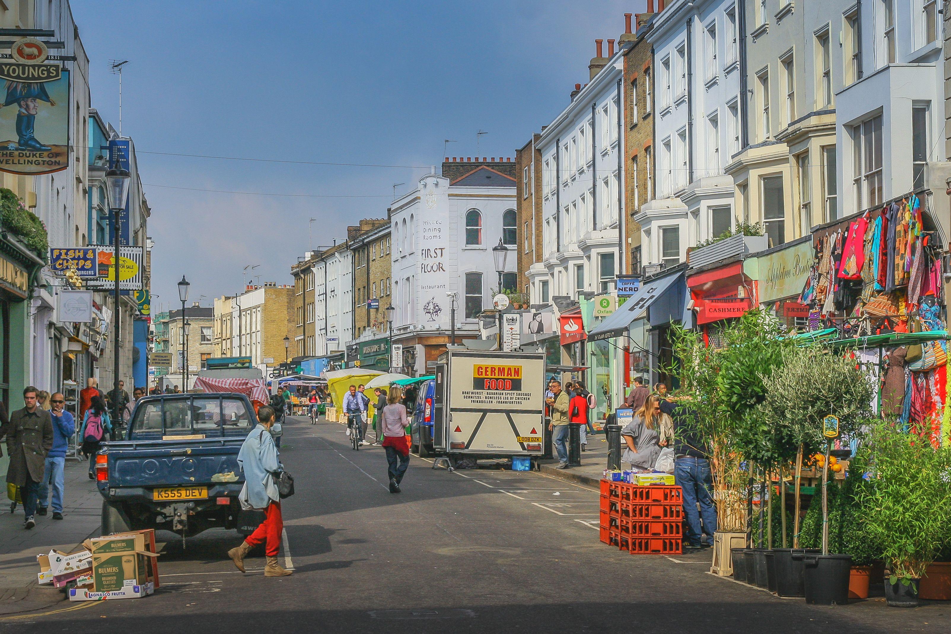 Notting Hill & Portobello Road, London
