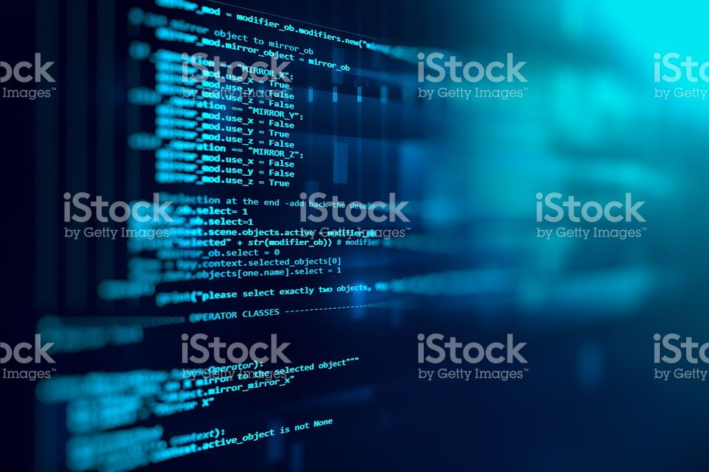 Programming Code Abstract Technology Background Of Software Deve Stock Photo Download Image Now Aplikasi Motivasi Alam