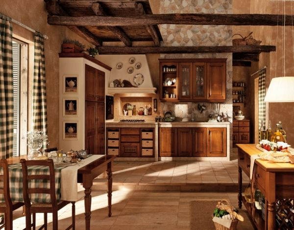 Warm, Inviting And Cozy, The Kitchen Generates The Heartbeat Of A Home.  This Design Style Is Full Of Warm Colors And Elaborate Details, Calling To  Mind ...