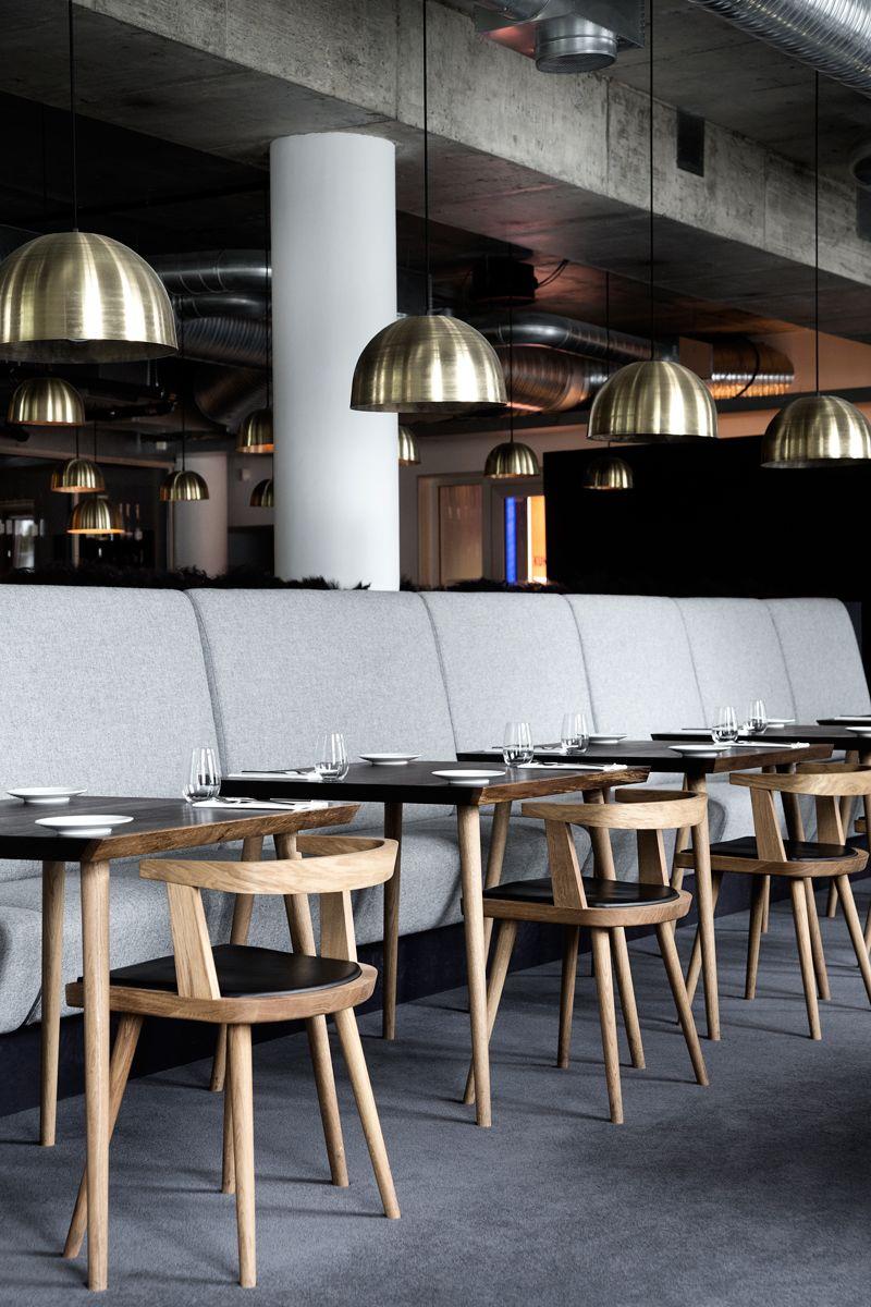 Lysverket  Bergen  Restaurant  Kbh Københavns Møbelsnedkeri Prepossessing Restaurant Dining Room Chairs Inspiration