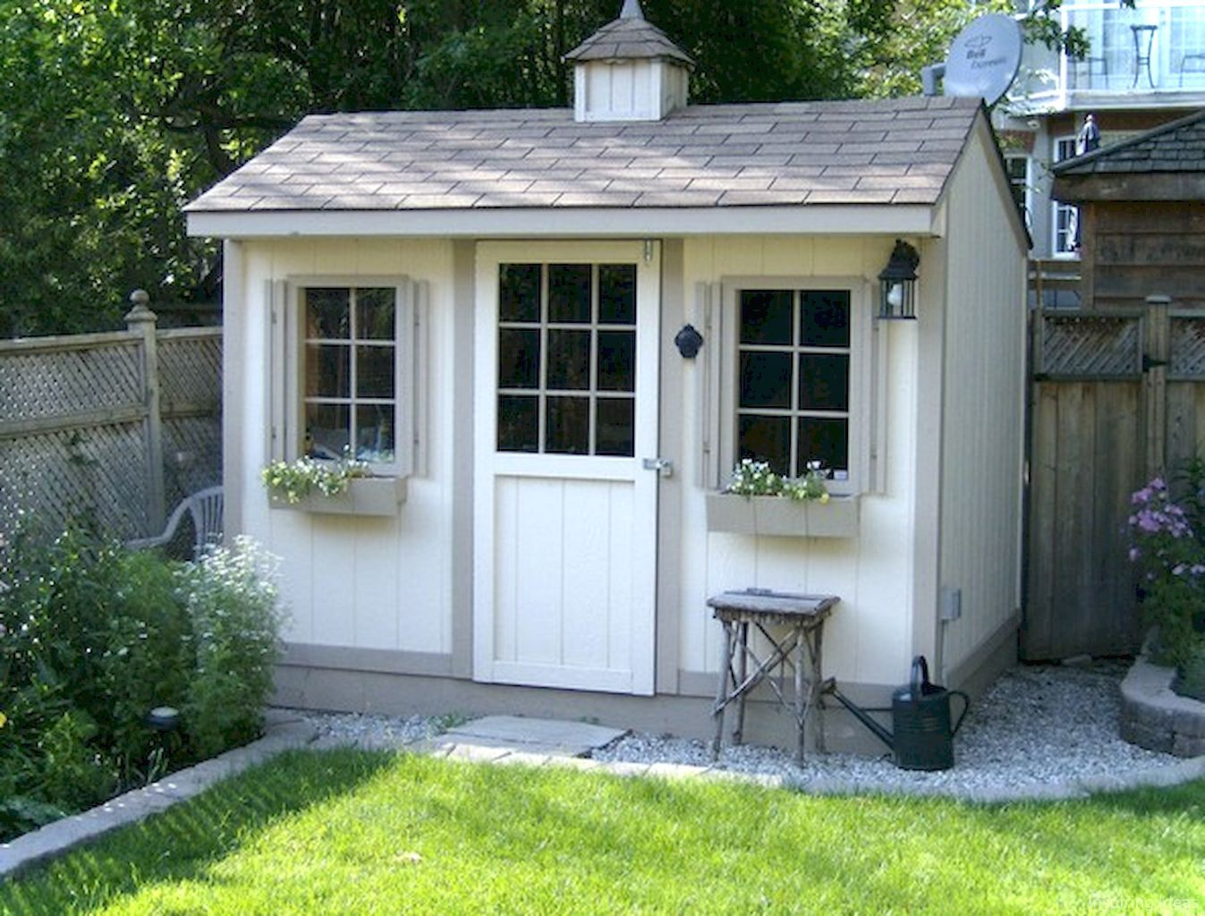 55 Nice Garden Shed Storage Ideas on a Budget Backyard