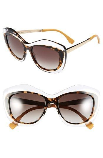07a446be914 Fendi 54mm Retro Sunglasses available at  Nordstrom