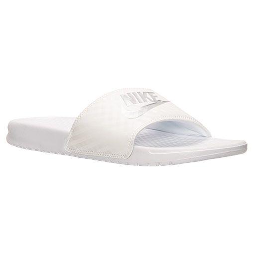 Women's Nike Benassi JDI Swoosh Slide Sandals. Nike BenassiFinish LineSlide  ...