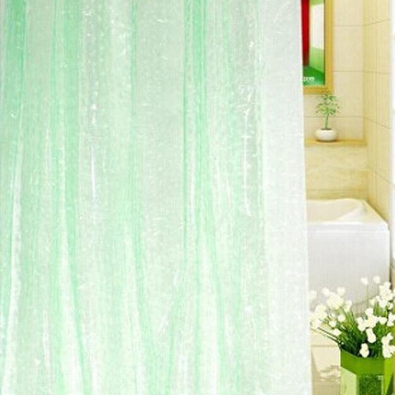 Translucent 3d Thickened 1 8 2m Shower Curtain Bathroom Shower