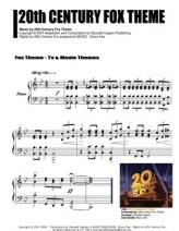 20th Century Fox Theme Piano Piano Sheet Music Free Music Jokes 20th Century Fox