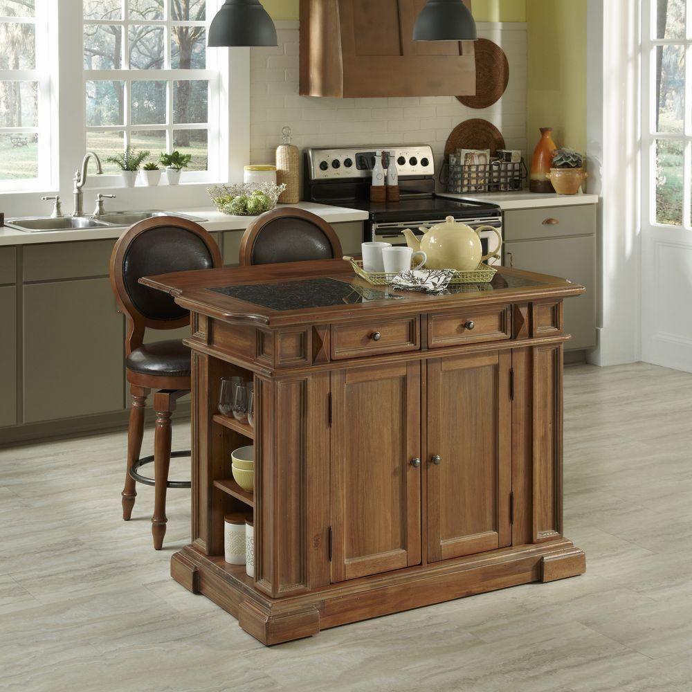 Americana vintage kitchen island with seating vintage kitchen