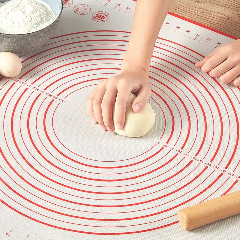 Kneading Dough Pad Baking Mats Sheet Non-Stick Pastry Cooking Mat Kitchen Supply