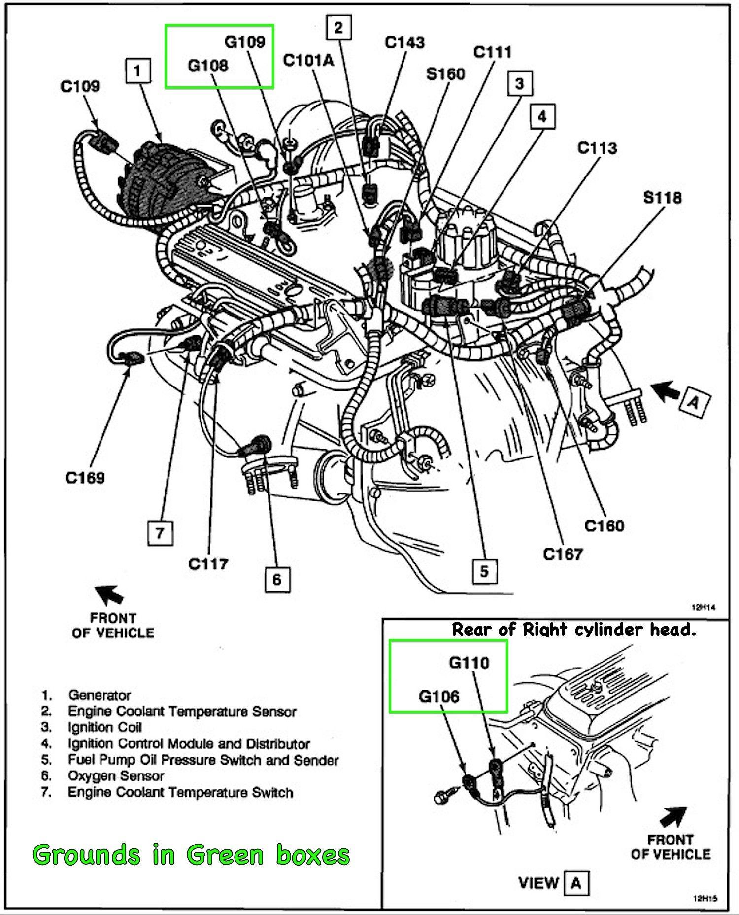 2004 Gmc Sierra Fuel Pump Fuel Pump Ground Wire in 2021