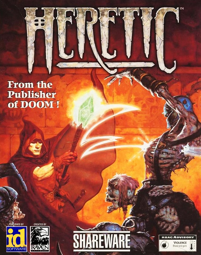 Heretic or Hexen I can never remember which is which from memory, but both were awesome. // ★★★★
