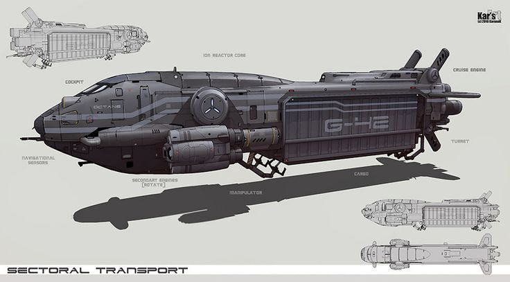Space Freighter Concept Art | Space transport ship. Concept Ships, Sectorial Transport, Concept Art ...