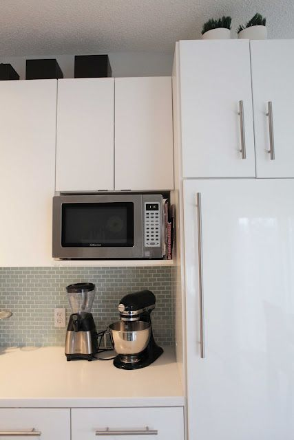 another microwave storage idea kitchen cabinets kitchen utilities microwave storage on kitchen organization microwave id=55220