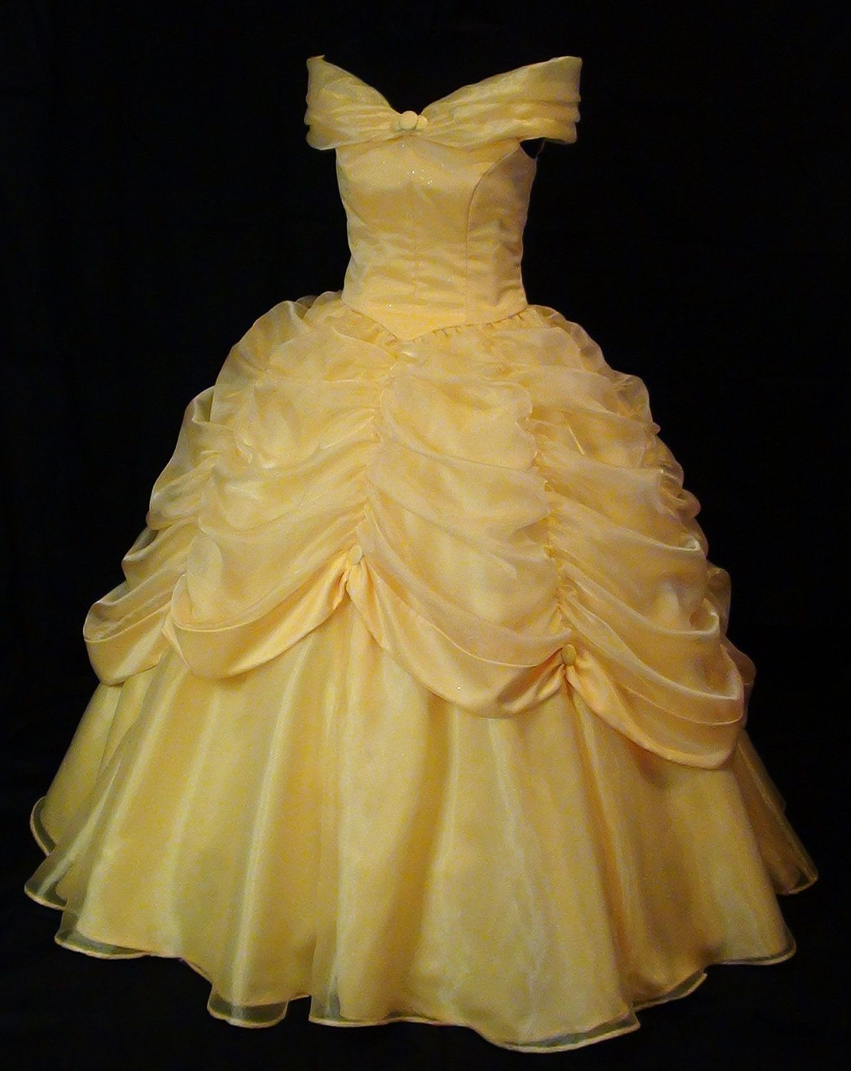 Beauty and the Beast Belle Classic Yellow Gown | My future costume ...